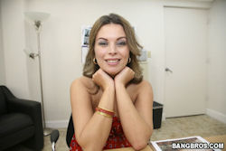 bailey brooks swallows hard dick